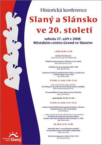 Konference - plakát