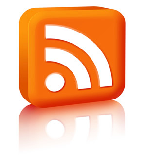 Naše webové stránky – symbol RSS