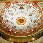 Městské divadlo ve Slaném – výzdoba stropu