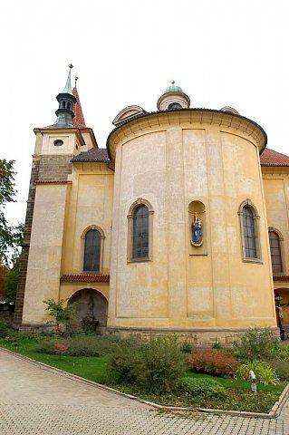 Klášterní kostel Nejsv.Trojice ve Slaném