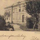 Nemocnice na starých pohlednicích (1900)
