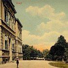 Nemocnice na starých pohlednicích (1909)