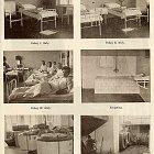 Interiery budov nemocnice ve Slaném