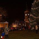 Slavnost světla, rozsvícení vánočního stromu