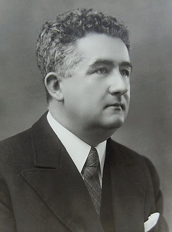 Primář MUDr.Josef Moucha (foto Jar. Eisman, 1940)