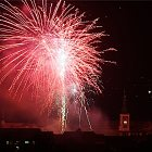 Novoroční ohňostroj 1.ledna 2009