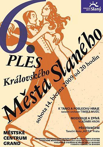 6. ples Královského města Slaného – plakát