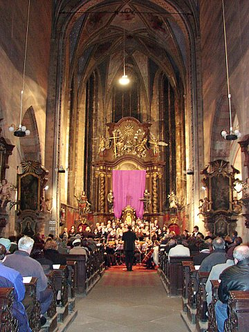 Dvořákovo Stabat Mater u sv.Gotharda ve Slaném (16. 3. 2002)