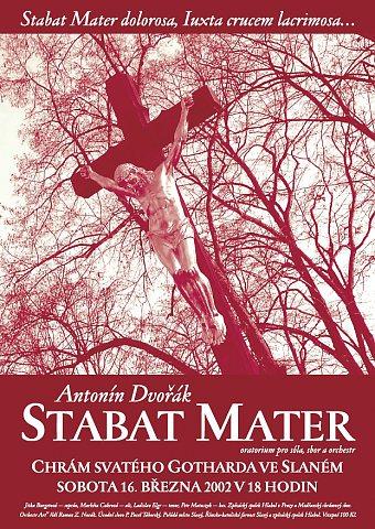 Antonín Dvořák – Stabat Mater – plakát