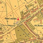 Zakreslení pozemku č. k. 763/1 (1901)