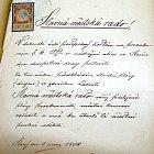 Žádost V. Havránkao povolení stavby