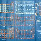 Část originální stavební dokumentace