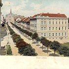 Část domu čp. 652 na pohlednici kolem r. 1925
