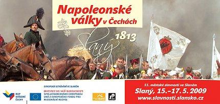 Napoleonské války – Slaný 1813 – 11. městské slavnosti – pozvánka
