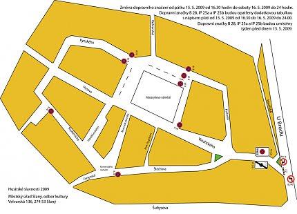 11. městské slavnosti – uzavírka centra města