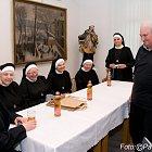 Setkání se sestrami boromejkami ve Slaném v dubnu 2009