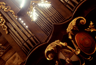 Varhany u sv.Gotharda ve Slaném