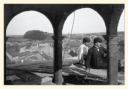 Pohled č. 5 – Pohled z věže bývalého Okresního domu