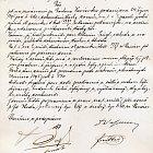 Protokol ze 7. 11. 1895 povolující domy čp. 619 a čp.620 obývati