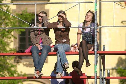 Na Husitských slavnostech 2007