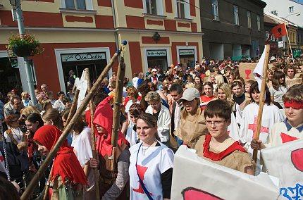 Husitské slavnosti 2009, Historický průvod