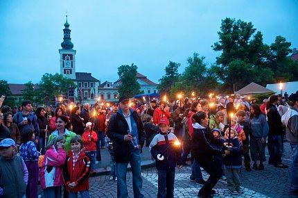 Husitské slavnosti 2009, Ohňový průvod