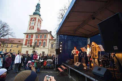 Koledy na náměstí o Štědrý den, 2008