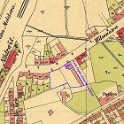 Zakreslení domu čp. 781 a stavební parcely V. Hiekeho z roku 1924