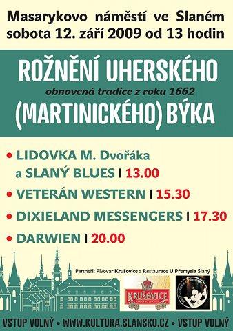 Rožnění uherského býka (2009) – plakát