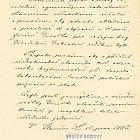Žádost o kolaudaci novostavby divadla z 15. prosince 1883.