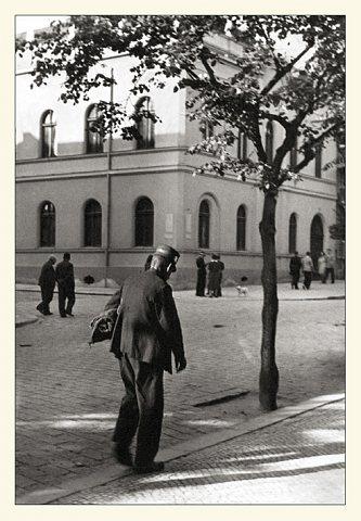 Nárožní dům čp. 585 MUDr.F.Suka na fotografii K.Hrušky z roku 1939