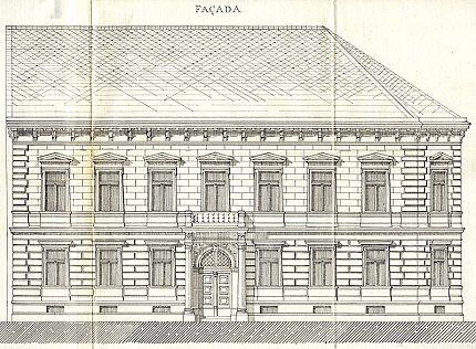 Novorenesanční dům čp. 521 ve Slaném stavitele R.Štecha