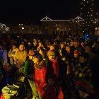 Slavnost světla, rozsvícení vánočního stromu 2009