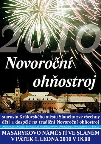 Novoroční ohňostroj 2010