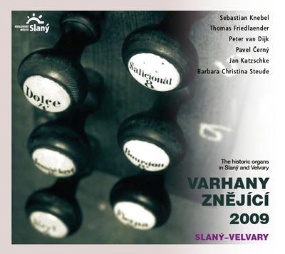 Varhany znějící 2009 Slaný–Velvary
