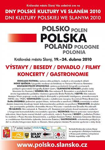 Dny polské kultury ve Slaném –plakát