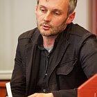 Beseda s básníkem a redaktorem Petrem Borkovcem