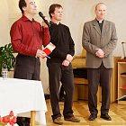 Beseda s P. Andrzejem Grygielem a s Jaroslavem Šubrtem.