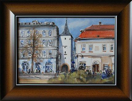 Jan Odvárka, Slaný, 2010 (akvarel)