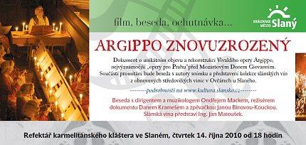 Argippo znovuzrozený – pozvánka