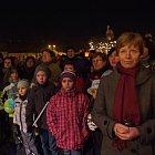 Slavnost světla – vystoupení Mateřského centra Rybička
