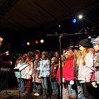 Slavnost světla – vystoupení pěveckého sboru 1. Základní školy