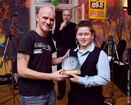 """Bohuslav Ježek – 1. místo v kategorii """"Talent do 18 let"""""""
