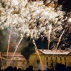 Novoroční ohňostroj 2011 ve Slaném