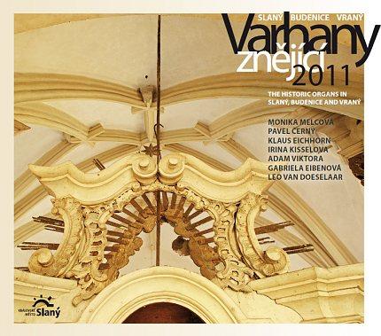 CD Varhany znějící 2011 Slaný–Budenice–Vraný
