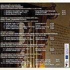 CD Varhnay znějící 2011 Slaný–Budenice–Vraný (zadní strana obalu)