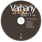 CD Varhany znějící 2011 Slaný–Budenice–Vraný (grafika disku)