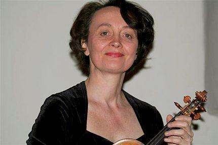 Francouzská houslová virtuózka Gaëtane Provoust