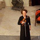 Franncouztská houslistka Gaëtane Prouvost a Petr Jiříkovský, 23. 11. 2011