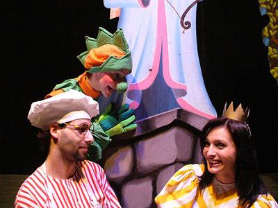 Princezny jsou na draka - Docela velké divadlo Litvínov